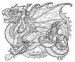 best dragon coloring pages for s library free coloring book clip art