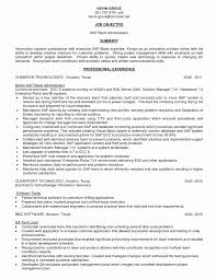 Sap Basis Sample Resume Lovely Fresh Sap Programmer Sample Resume
