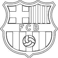 Fc Barcelone Coloriage