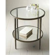 metal glass end tables round side table side tables crate and barrel and metal and glass end tables metal glass sofa tables