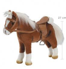 <b>Лошадь</b> для куклы <b>Gotz</b> с седлом и уздечкой (3401099) - купить в ...
