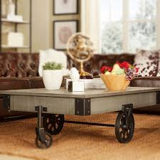 Industrial Factory Cart Coffee Table Industrial Cart Coffee Table With Gorgeous Factory Style