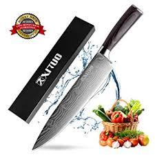 chef knife professional 8 inches high carbon snless steel kitchen knife with ergonomic handle
