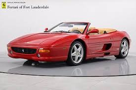 The vehicle boasts a fastidious service history, low mileage and has been enjoyed by just two owners from new. 2008 Ferrari F355 Suv For Sale