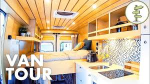 Van Conversion Interior Design Super Smart Camper Van Design With Lots Of Great Ideas Full Tour