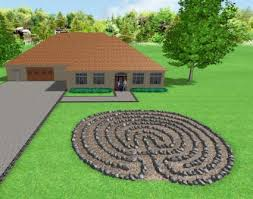 Small Picture Garden Labyrinth Designs