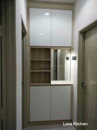 lora kitchen design storage display cabinet