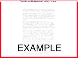 Sample Expository Essay Expository Essay Examples For High School Students Dew Drops