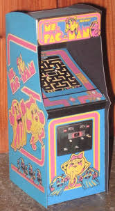 Ms Pacman Cabinet Ms Pacman Arcade Cabinet By Paperart On Deviantart