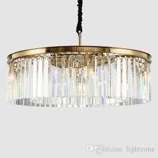 high end american retro led pendant lamps crystal chandeliers light elegant creative led pendant lights for restaurant club bar villa duplex