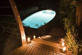 cheap outdoor lighting ideas. Underwater Lighting Is An Amazing Way To Highlight Your Pool. The Light  Reflects On The Cheap Outdoor Ideas