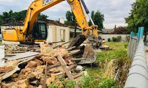 Image result for Bulldozed UNley house getting