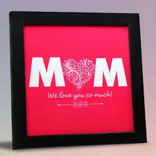 love you so much mum tile frame