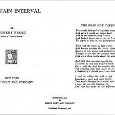 essay on the road not taken cover letter  robert frost the road not taken essay essay on the road not taken by robert