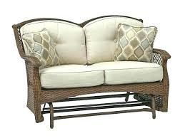 outdoor loveseat glider outer banks sling metal plans canada