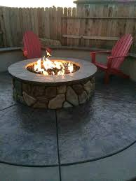 fire pit ideas outdoor living natural gas medium size of bricks home de