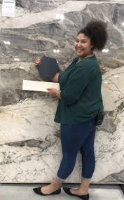 How much should you pay for quartzite countertops? Our New Paramount Quartzite Is Officially Here And Just In Time For Fridayfavorite Meet Our Customer Service Rep Sharlee At Ou Quartzite Paramount Stone Slab