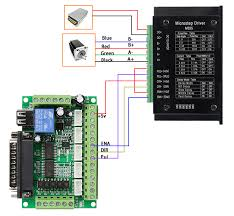 cnc kit 3axis nema23 stepper motor m335 stepper driver for mill connection diagram