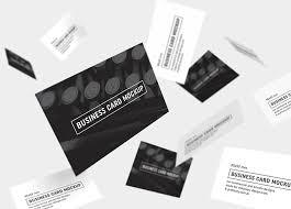 10 Free Business Cards Business Cards Mockup 85x55 Mm Mockups Design Free