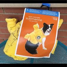Petco Dog Collar Size Chart Dog Submarine Costume Size Large