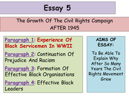 higher history usa essay development of the civil rights 1 experience of black servicemen in wwii ppt