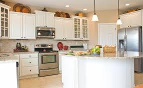 Kitchen With Island Straight Line Kitchen With Island Decorating Ideas 87134 Kitchen