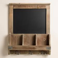 Kitchen Chalkboard With Shelf No Mudroom No Problem How To Create A Fake Mudroom