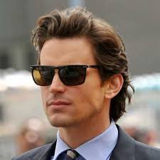 business hairstyles for men long flowing brushed back hair