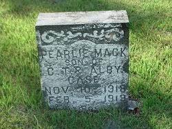 Pearlie Mack Case (1918-1919) - Find A Grave Memorial
