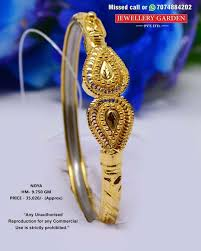 Bracelet Noa Design Pin By Saravanan Sara On Mondial Bangles Designs Gold