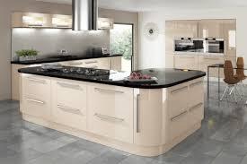 Cream Gloss Kitchens Cream Gloss Kitchen Kitchen Ideas Pinterest Grey Kitchen