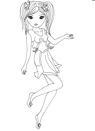 Coloriage Top Model Colorier