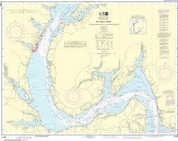 Noaa Nautical Chart 12288 Potomac River Lower Cedar Point To Mattawoman Creek