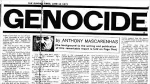 genocide the sunday times essay about s mass   13 1971