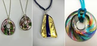 collage studio 8 glass jewellery