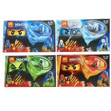 Con quay Ninja kiểu xếp hình lego có 4 màu