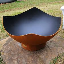 elegant steel fire pit bowl wood burning pits encourage along with concrete diy inspirational modern excellent