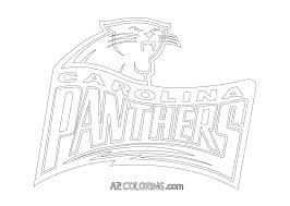 carolina panthers coloring pages simple color col on beautiful