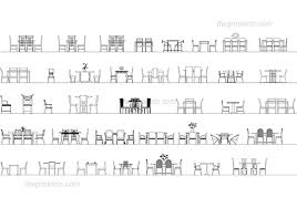 dining chair side elevation cad block. tables and chairs elevation dwg, cad blocks, free download. dining chair side cad block a