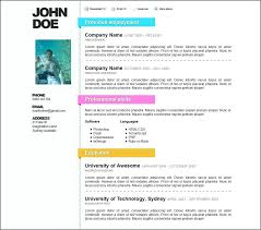 Free Resume Templates For Word 2007 Adorable Free Resume Templates For Microsoft Word Resume Templates Doc Free