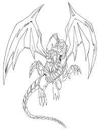 Yugioh Paradijs Kleurplaat Blue Eyes White Dragon