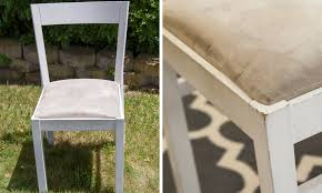 before and after reupholster dining room chairs new fabric