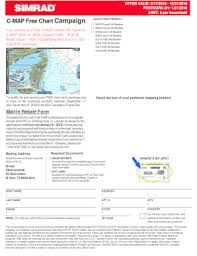 Fillable Online C Map Free Chart Campaign Simrad Fax Email