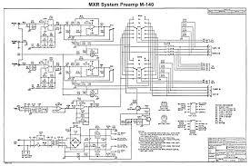 schematic mxr system preamp ii m 150 mxr system preamp m 140 schematic page 1