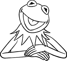 Small Picture Kermit The Frog Coloring Pages qlyviewcom