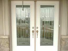 door inserts classic style wrought iron door inserts entry exterior door glass