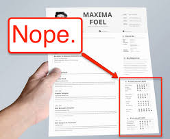 Resume Skills Awesome This Is By Far The Dumbest Resume Trend Resume Genius