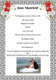 samples of wedding announcement wording Wedding Announcement And Reception Invitation Wedding Announcement And Reception Invitation #38 wedding announcement reception invitation