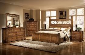 wooden rustic king size bedroom sets