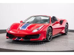 Used Ferrari 488 Pista Spider Car For Sale In Sterling Official Ferrari Used Car Search